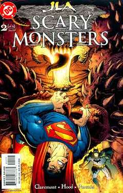 Copertina JLA SCARY MONSTERS M6 n.2 - Cold Front, DC COMICS
