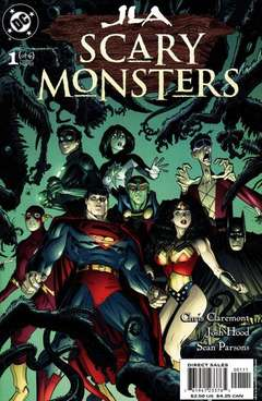 Copertina JLA SCARY MONSTERS M6 n.1 - Scary Monsters, DC COMICS