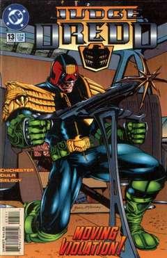 Copertina JUDGE DREDD S18 n.13 - Theme War, Part 1, DC COMICS