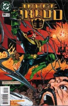 Copertina JUDGE DREDD S18 n.14 - Theme wars part 2: Ticket to ride, DC COMICS