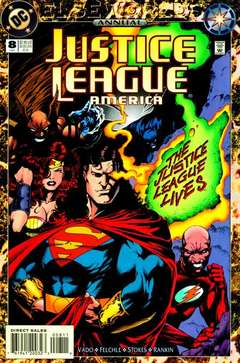 Copertina JUSTICE LEAGUE AMERICA ANN.S10 n.8 - The Once and Future League, DC COMICS