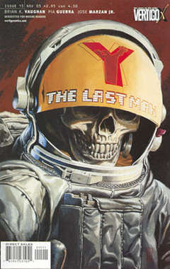 Copertina Y LAST MAN n.15 - One Small Step: Conclusion, DC COMICS