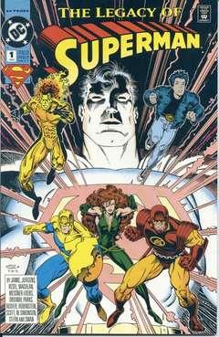 Copertina LEGACY OF SUPERMAN n.1 - LEGACY OF SUPERMAN, DC COMICS