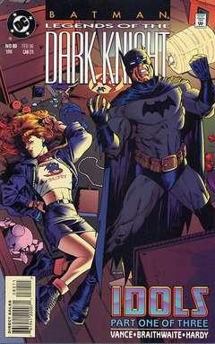 Copertina LEGENDS OF DARK KNIGHT n.80 - Idols, Part One, DC COMICS