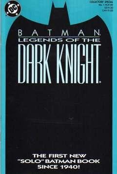 Copertina LEGENDS OF DARK KNIGHT n.1 - Shaman, Book One, DC COMICS