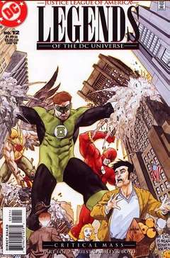 Copertina LEGENDS OF DC UNIVERSE n.12 - Critical Mass, Stages 1-5, DC COMICS