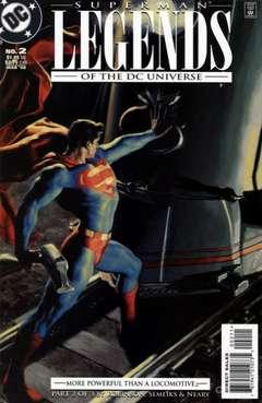 Copertina LEGENDS OF DC UNIVERSE n.2 - U.L.T.R.A. Humanite, Part II: Mad Science, DC COMICS