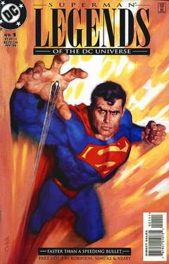 Copertina LEGENDS OF DC UNIVERSE n.1 - U.L.T.R.A. Humanite, Part 1: Madness and Science, DC COMICS