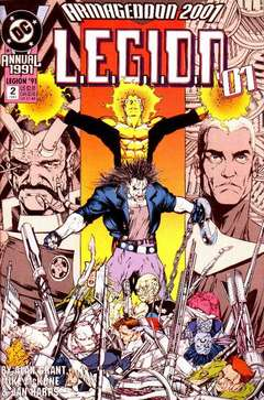 Copertina LEGION 1989 ANNUAL n.2 - 2001!, DC COMICS