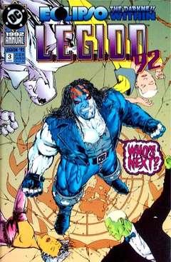 Copertina LEGION 1989 ANNUAL n.3 - Chasing Shadows, DC COMICS