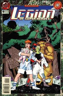 Copertina LEGION OF SUPERHEROES ANN. S7 n.5 - The Long Road Home, DC COMICS