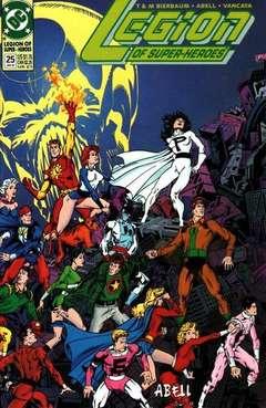 Copertina LEGION OF SUPERHEROES S125 '90 n.25 - LEGION OF SUPERHEROES 199   25, DC COMICS