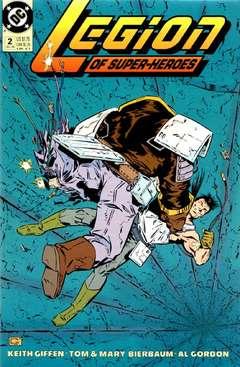 Copertina LEGION OF SUPERHEROES S125 '90 n.2 - Glitter, DC COMICS