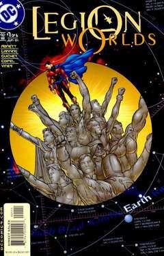 Copertina LEGION WORLDS M6 n.1 - You Are Here: Earth, DC COMICS