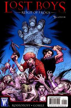 Copertina LOST BOYS REIGN OF FROGS n.1 - LOST BOYS REIGN OF FROGS     1, DC COMICS