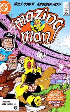 Copertina MAZING MAN S12 n.6 - Take Me Out to the Ballgame, DC COMICS