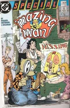 Copertina MAZING MAN SPECIAL n.1 - Where Oh Where Has My Little Friend Gone, DC COMICS