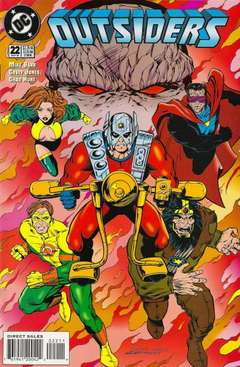 Copertina OUTSIDERS S24 1993 n.22 - The Armagetto Quest, DC COMICS