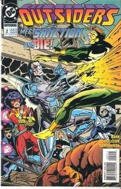 Copertina OUTSIDERS S24 1993 n.2 - Decline & Fall, DC COMICS