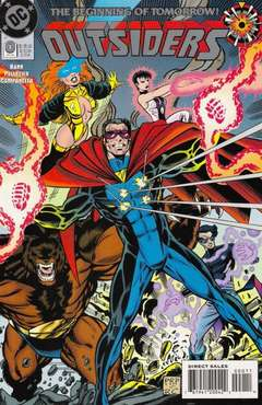 Copertina OUTSIDERS S24 1993 n. - From The Ashes, DC COMICS