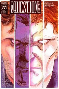 Copertina QUESTION QUARTERLY S5 n.5 - Outrage, DC COMICS