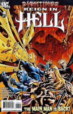 Copertina REIGN IN HELL M8 n.4 - Counterstrike!, DC COMICS