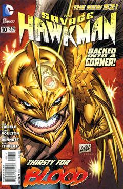 Copertina SAVAGE HAWKMAN 2011 n.10 - War Games, DC COMICS