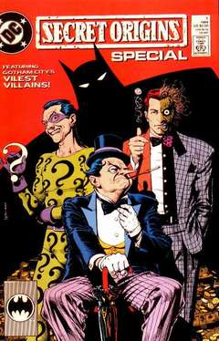 Copertina SECRET ORIGINS 1989 SPECIAL n.1 - Featuring Gotham City's Vilest Villains!, DC COMICS