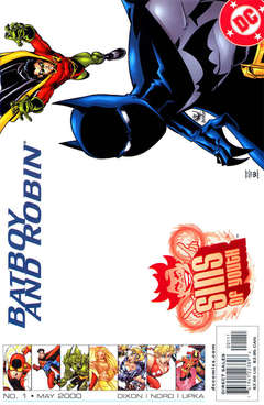 Copertina SINS OF YOUTH n.2 - Big Magic, DC COMICS