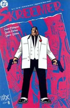 Copertina SKREEMER M6 n.6 - Part Six: Finnegan's Wake, DC COMICS