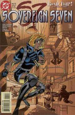 Copertina SOVEREIGN SEVEN S36 n.11 - Siege Most Perilous, DC COMICS
