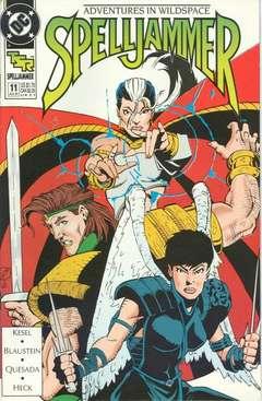 Copertina SPELLJAMMER COMICS S16 1990 n.11 - Serious Trouble, DC COMICS