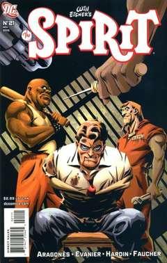 Copertina SPIRIT n.21 - Nor Prison Walls..., DC COMICS