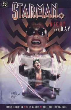 Copertina STARMAN n.5 - NIGHT AND DAY, DC COMICS