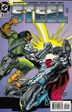 Copertina STEEL S52 n.2 - Turf War!, DC COMICS