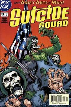 Copertina SUICIDE SQUAD n.3 - Pest Control, DC COMICS
