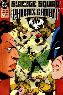 Copertina SUICIDE SQUAD S66 n.41 - Part Two: Embers, DC COMICS
