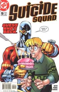Copertina SUICIDE SQUAD n.5 - The Jerk, DC COMICS