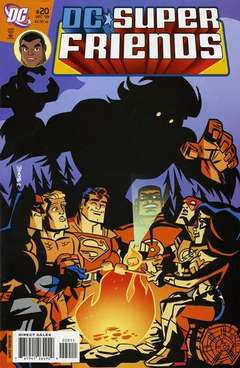 Copertina SUPER FRIENDS n.20 - A Hair-Raising Tale, DC COMICS