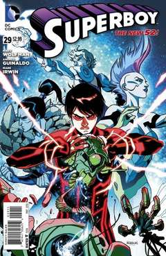 Copertina SUPERBOY 2011 n.29 - Homeward Bound, DC COMICS