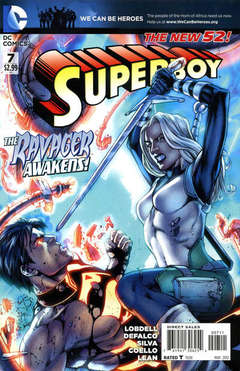 Copertina SUPERBOY 2011 n.7 - Untamed Rose!, DC COMICS