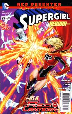 Copertina SUPERGIRL 2011 n.29 - Red Daughter of Krypton Part 1: Inner Demons, DC COMICS