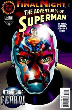 Copertina SUPERMAN 1939 n.540 - Curtain Call, DC COMICS