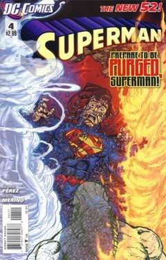 Copertina SUPERMAN 2011 n.4 - Mind for the Taking, DC COMICS
