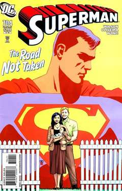 Copertina SUPERMAN n.704 - The Road Least Travelled: A Grounded Interlude, DC COMICS