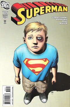 Copertina SUPERMAN n.705 - Visitation Rights, DC COMICS
