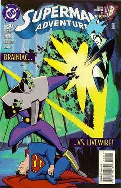 Copertina SUPERMAN ADVENTURES n.23 - War Games Part 2, DC COMICS