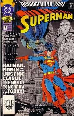 Copertina SUPERMAN ANNUAL n.3 - Execution 2001, DC COMICS