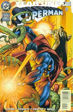 Copertina SUPERMAN ANNUAL n.7 - Strange Visitor, DC COMICS
