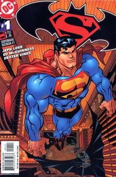 Copertina SUPERMAN BATMAN n.1 - I MONDI MIGLIORI, DC COMICS